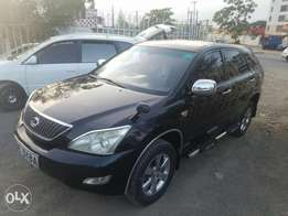 Toyota Harrier in extreme condition, buy and drive