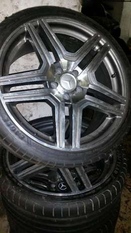 19 Inch Mercedes Rims and Tyres, 265/30R19. Bargain price. Johannesburg - image 2