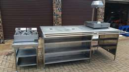 Restaurant equipment for sale and stainless steel table