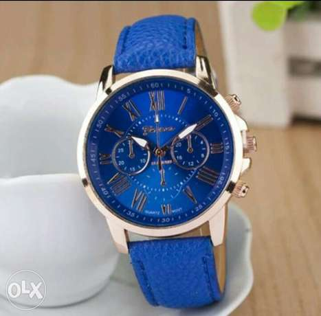 Leather wristwatch for ladies Lagos - image 2