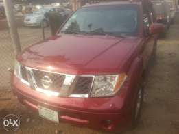 Perfectly used nissan pathfinder 2006 buy n travel tincan cleared