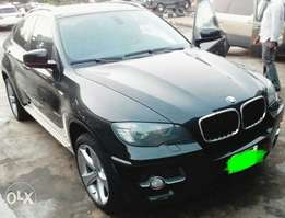 2012 BMW X6 full option registered