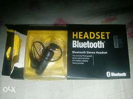 Neatly used BT headset for sale