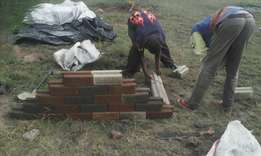 Makiga interlocking bricks