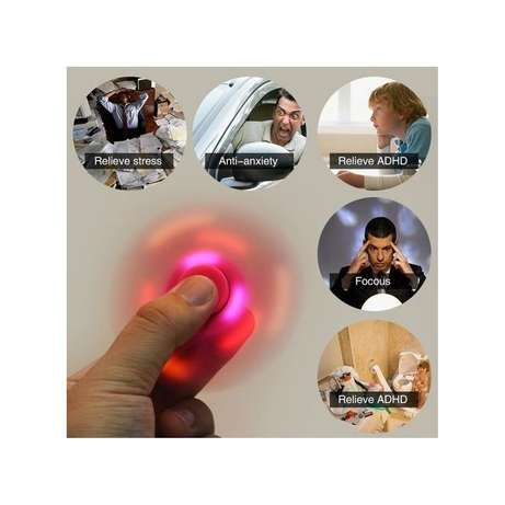 Fidget Spinner with LED Light and Bluetooth Speaker Nairobi CBD - image 3