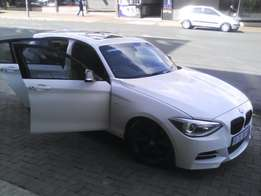 2013 BMW 1 Series M Sport 135i White Color A/T FINANCE AVAILABLE
