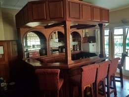 Bar Solid Mahogany