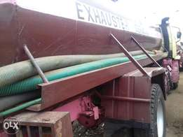 Exhauster/sewage services