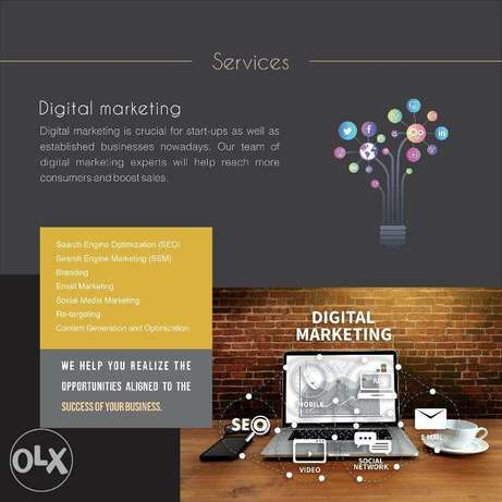 Digital Marketing Services. Social Media Management.