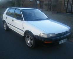 1996 Toyota Conquest 1300. Papers and Licensed, spare keys. Books.