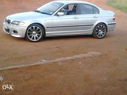 "bmw 320i with 18""mags auto very good condition"