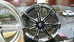 20 inch alloys imported from UK.