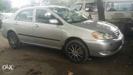 A very clean Toyota Corola Fabrick seat for sale