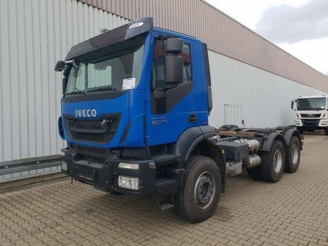 Iveco Magirus Trakker AT260T41 6x4 Trakker AT260T41 6x4, Intarder - 2014