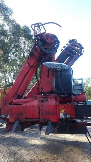 Tirre 9018 loader crane - 1992