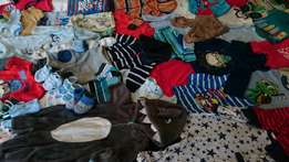 Baby Boy Newborn To 6 Months Clothes And Shoes For Sale