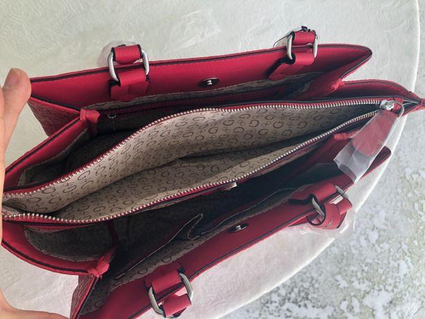 GUESS oryginalna torebka czerwona Bieszkowice • OLX.pl