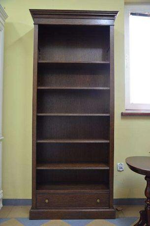 Biblioteka Angielska Otwarta Debowa Od Drewnostyle Krakow Debniki