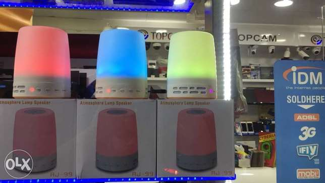 Bluetooth Speaker 6 Colors Led