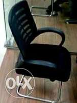 Exotic mesh non swivel office chair