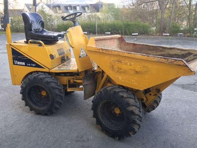Thwaites Dumper Alldrive 1tonne Hi-tip Allrad 22ps Hydro - 2005