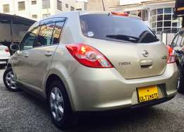 nissan tiida 2010 model KCN arrived loaded leather at 820,000/=ono