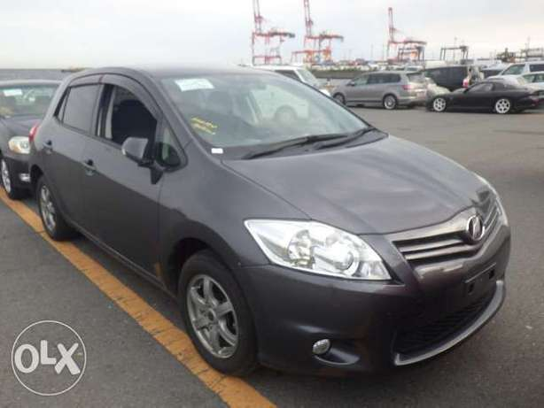 Toyota Auris Color grey KCP number Mombasa Island - image 3