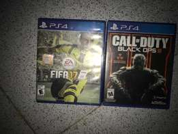 FIFA 17 and Call of duty Black Ops 3