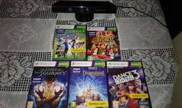 Xbox Kinect sensor,games and accessories