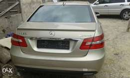 Tokunbo American Used 2011 Mercedes Benz E350, Accident Free, Perfect