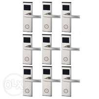 Xeeder Electronic Door Lock With RFID Card Access Control - 9 Set.