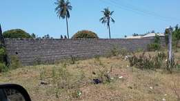 MIRAMAR PROPERTY SOLUTIONS..Plot with Perimeter wall for Sale mtwapa