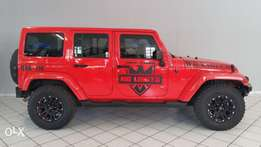 Jeep Wrangler Unlimited Sahara.