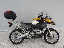 BMW GS1200 Yellow,