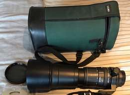 Vivitar 170-500 mm auto focus lens for Nikon