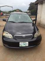 Super clean Nigeria used Toyota Corolla sports 2004 model.