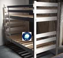 *Free Delivery* Brand New DOUBLE BUNK BEDS. Stylish beach finish!