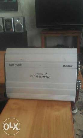 Germo 2000watts amplifier car booster very powerful Gilgil - image 1