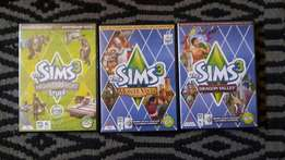 3 sims 3 games lots of fun