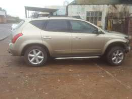 Nissan Murano Breaking for parts
