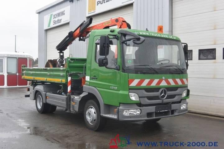 Mercedes-Benz 1018 Atego 3-seiten Kran Pk7001+ Funk Nur 61 Tkm - 2012