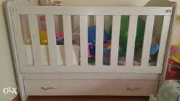Baby Cot & Chest of Draws