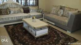 Sofa set and coffee table