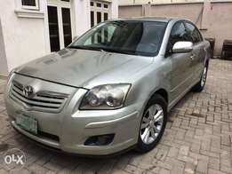 Toyota Avensis silver 2008 buy and drive