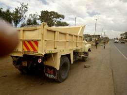 Isuzu direct injection tipper