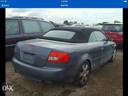 Audi A4 Convertible extra ordinary clean buy drive allowed rim leather