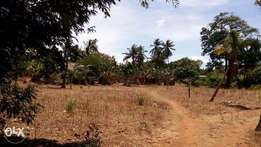 4.5 Acre plot for sale in Kanamai kilifi at 18M