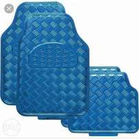 Metallic car floor mats, Free delivery within Nairobi cbd.