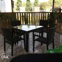 Outdoor Set of Chair and Table