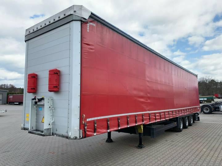 Schmitz Cargobull SCB*S3T MEGA Hubdach 6664kg Liftachse - 2014
